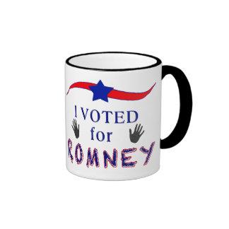 Voté por la taza de Romney