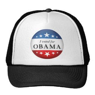 Voté por Obama Gorra