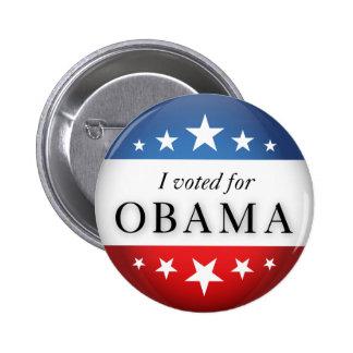 Voté por Obama Pin