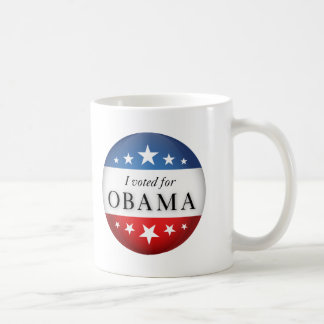 Voté por Obama Taza Clásica