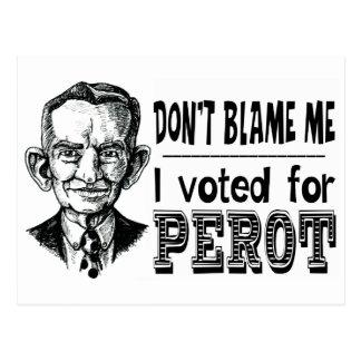 Voté por PEROT Postales