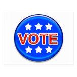 vote post card