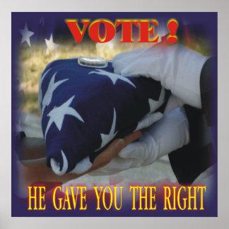 VOTE ! Poster