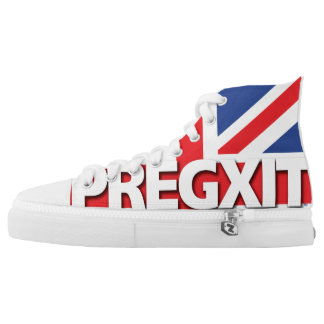 Vote PREGXIT with these High-Top Sneakers