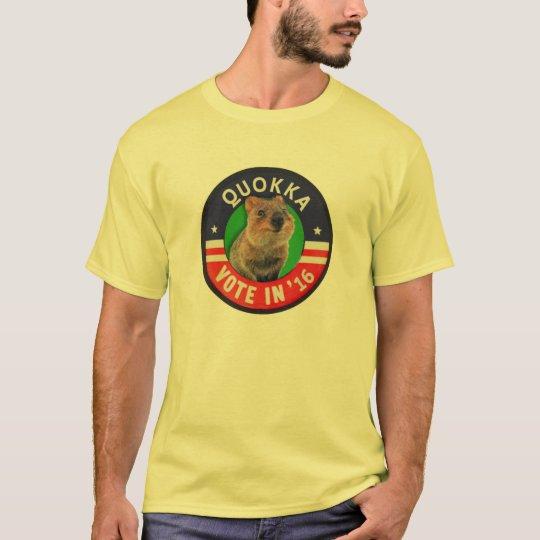 Vote Quokka for President in 2016 T-Shirt