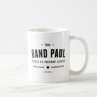 Vote Rand Paul 2016 Coffee Mug