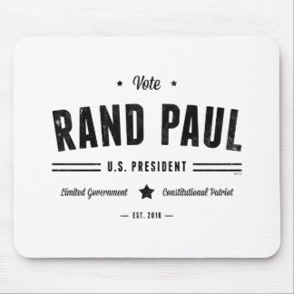 Vote Rand Paul 2016 Mouse Pad