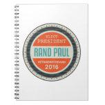 Vote Rand Paul 2016 Notebooks