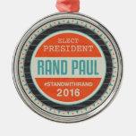 Vote Rand Paul 2016 Ornaments