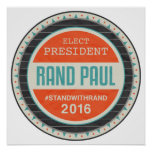 Vote Rand Paul 2016 Posters