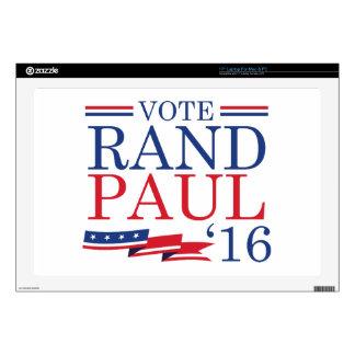 Vote Rand Paul 2016 Skins For Laptops