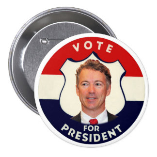 Vote Rand Paul for president Button