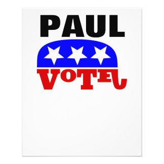 Vote Rand Paul Republican Elephant Flyer
