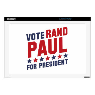 Vote Rand Paul Skin For Laptop