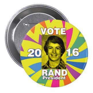 Vote Randal Paul 2016 Pinback Button