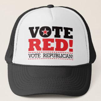 Vote Red! Vote Republican! Trucker Hat