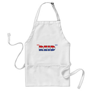 Vote Reid 2010 Elections Red White and Blue Adult Apron