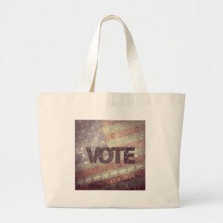 Vote Republican 2016 Large Tote Bag