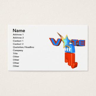 Vote Republican Business Card