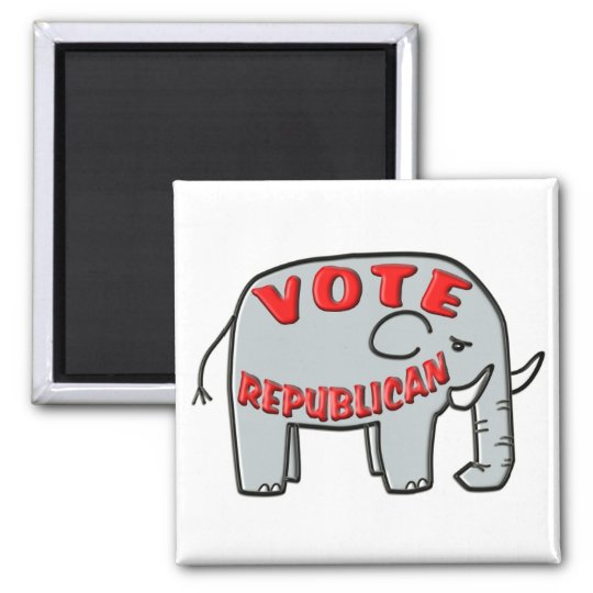 VOTE REPUBLICAN (Elephant) Magnet