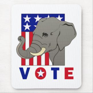 VOTE REPUBLICAN ELEPHANT MOUSE PAD