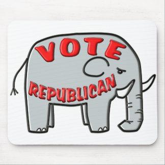 VOTE REPUBLICAN (Elephant) Mouse Pad