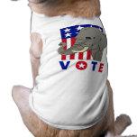 VOTE REPUBLICAN ELEPHANT PET TSHIRT