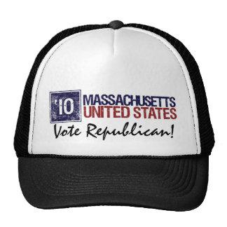 Vote Republican in 2010 – Vintage Massachusetts Trucker Hat