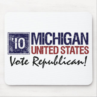 Vote Republican in 2010 – Vintage Michigan Mouse Pad