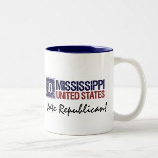 Vote Republican in 2010 – Vintage Mississippi Coffee Mug