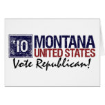 Vote Republican in 2010 – Vintage Montana Greeting Card