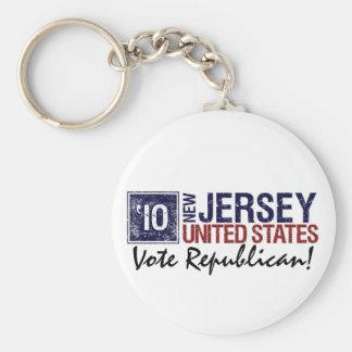 Vote Republican in 2010 – Vintage New Jersey Keychain