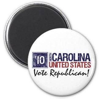 Vote Republican in 2010 – Vintage North Carolina Magnet