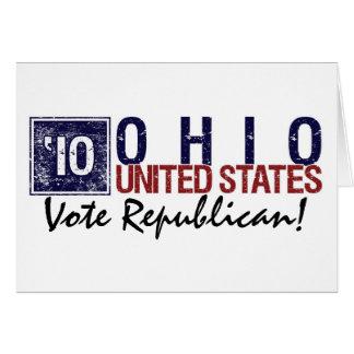 Vote Republican in 2010 – Vintage Ohio Card