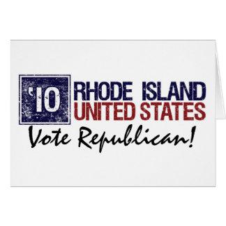 Vote Republican in 2010 – Vintage Rhode Island Greeting Cards
