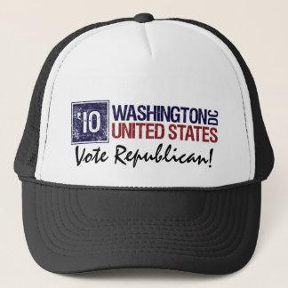 Vote Republican in 2010 – Vintage Washington DC Trucker Hat