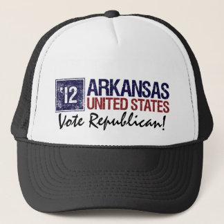 Vote Republican in 2012 – Vintage Arkansas Trucker Hat