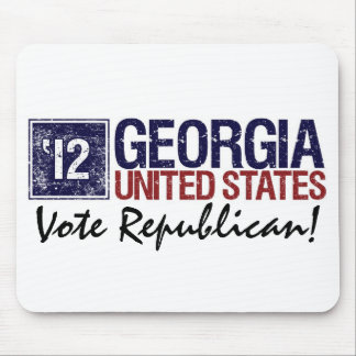 Vote Republican in 2012 – Vintage Georgia Mouse Pad