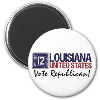 Vote Republican in 2012 – Vintage Louisiana Magnet