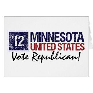 Vote Republican in 2012 – Vintage Minnesotaa Card