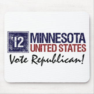 Vote Republican in 2012 – Vintage Minnesotaa Mouse Pad