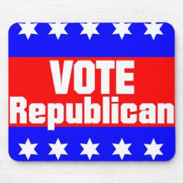 Vote Republican Mouse Pad