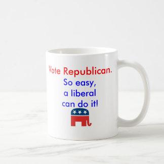 Vote Republican Oversized Mug