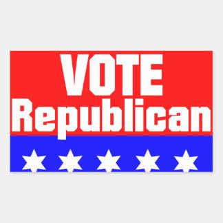 Vote Republican Rectangular Sticker