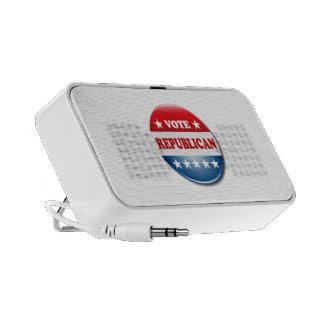 VOTE REPUBLICAN MINI SPEAKERS