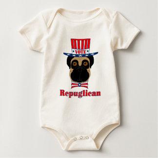 Vote Repuglican Baby Bodysuit