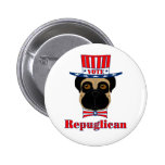 Vote Repuglican Pinback Buttons
