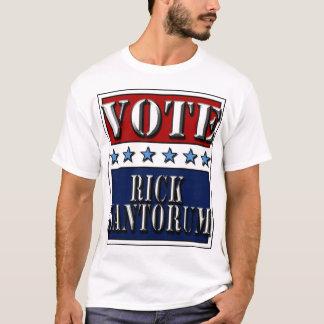 Vote Rick Santorum 2012 - t-shirt