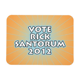 Vote Rick Santorum Magnet