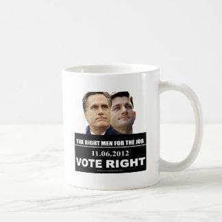 Vote Right 2012 Coffee Mug
